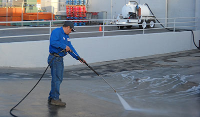 Interior Trailer Washouts and Sanitization
