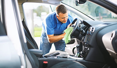 Interior Cleaning and Detailing